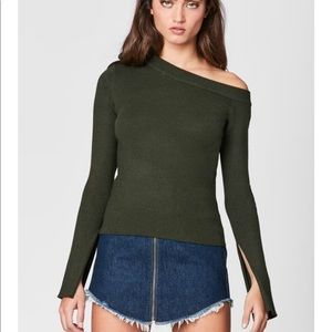 LF Sweater in Olive Gree